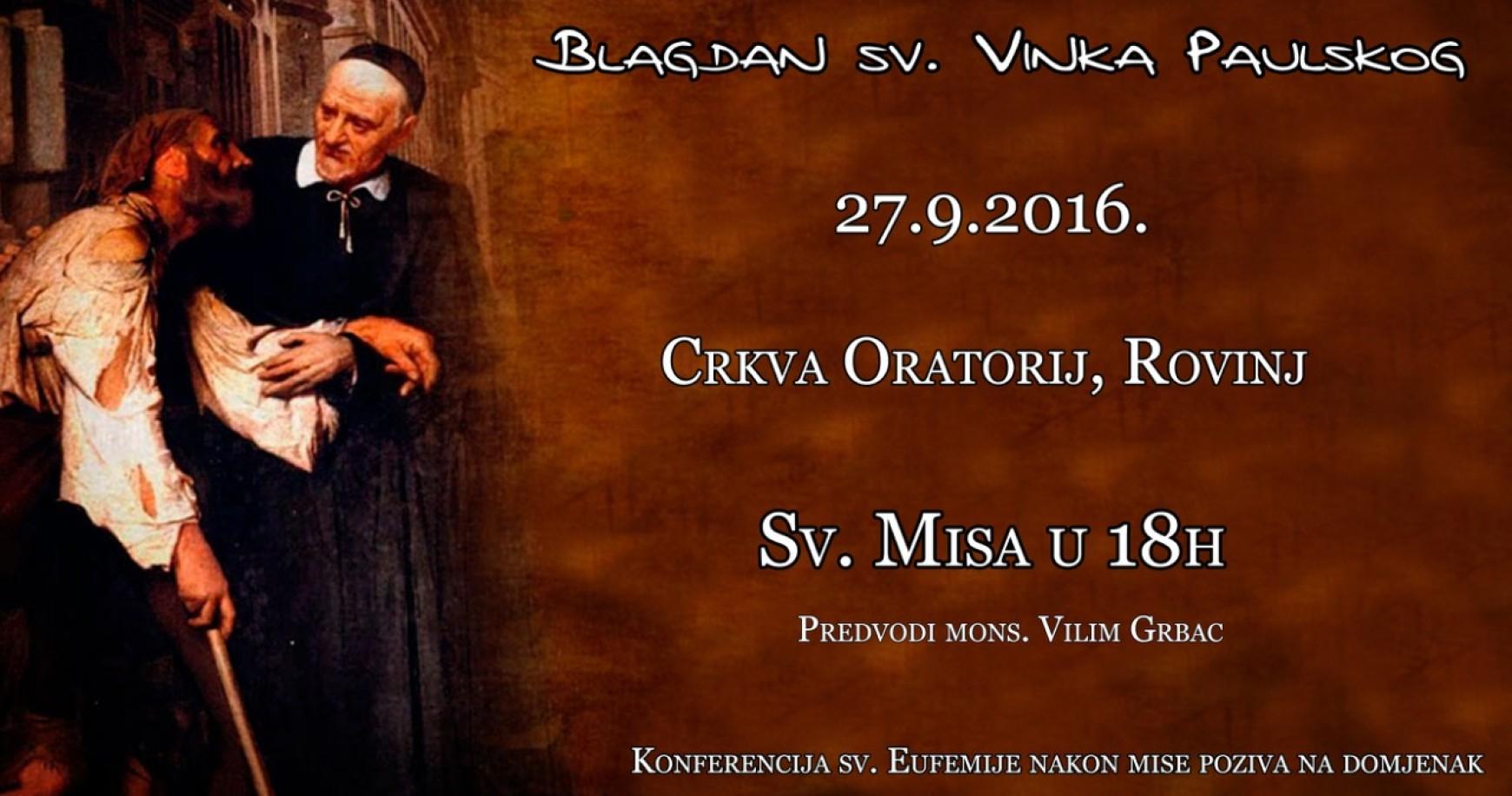 Blagdan sv. Vinka Paulskog