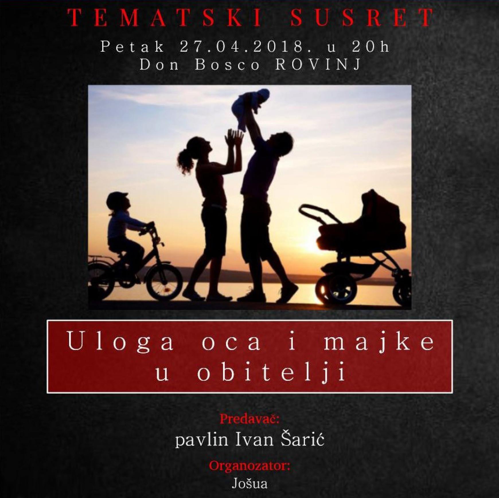 Uloga oca i majke u obitelji